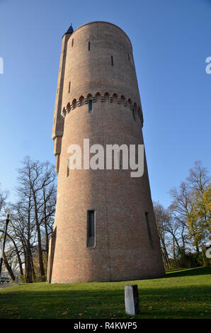 A tower in Bruges, Belgium - Stock Image
