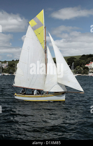 Traditional Falmouth Working Boat - Stock Image