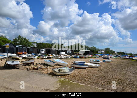 Orford Quay, Orford, Suffolk, UK - Stock Image
