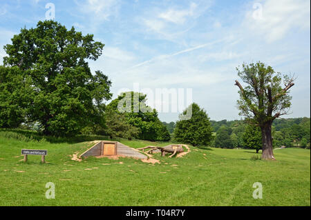 Weald Country Park, South Weald, Brentwood, Essex, UK - Stock Image