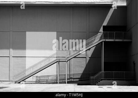 Rear view of the AMC theater in Orange Beach, Alabama, USA. - Stock Image