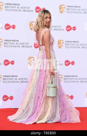 LONDON, UK. May 12, 2019: Megan McKenna arriving for the BAFTA TV Awards 2019 at the Royal Festival Hall, London. Picture: Steve Vas/Featureflash - Stock Image