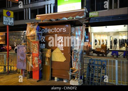 Newspaper stand, Hongkong CN - Stock Image