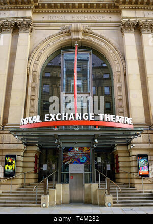 The Royal Exchange Theatre, Manchester, England, United Kingdom - Stock Image