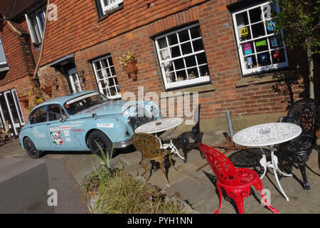The Bell pub in Ticehurst, East Sussex, United Kingdom - Stock Image