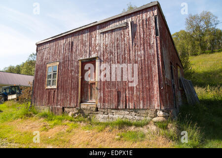 Picture of and old farmhouse - Stock Image