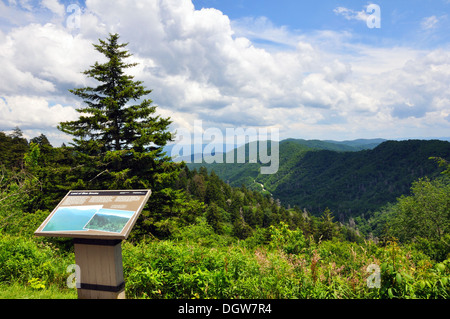 Great Smoky Mountains National Park, Tennessee, USA - Stock Image