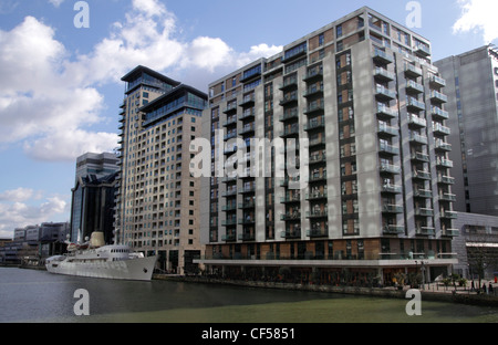 South Quay Docklands London - Stock Image