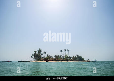 The Turtle Islands, Sierra Leone - Stock Image