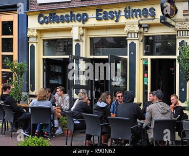 Coffeeshop Easy,  Amsterdam, The Netherlands, Dutch, - Stock Image