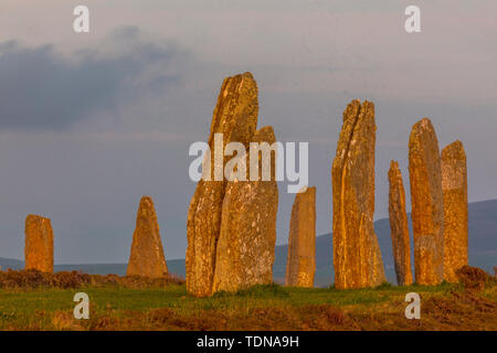 Ring of Brodgar, Orkney Island, Scotland, UK - Stock Image