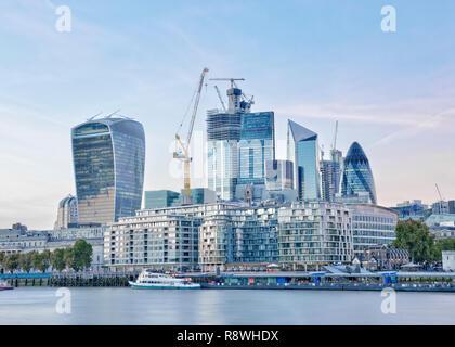City of London Skyline, United Kingdom - Stock Image