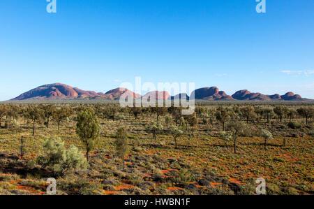 The Olgas or Kata Tjuta, Uluru-Kata Tjuta National Park, Northern Territory, Australia - Stock Image