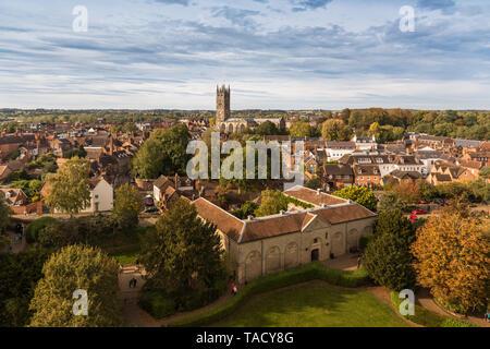 St Mary's Church, Warwick, UK - Stock Image