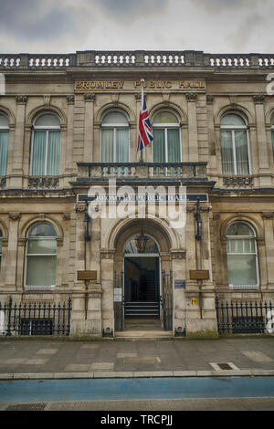 bromley public hall east london - Stock Image