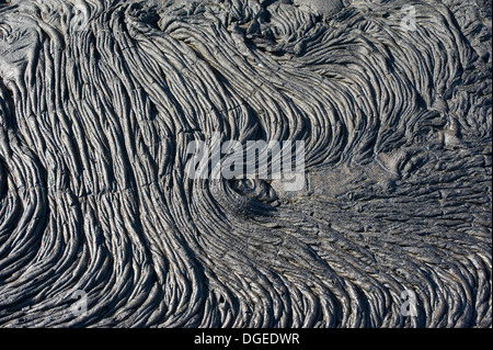 Rope lava - Stock Image