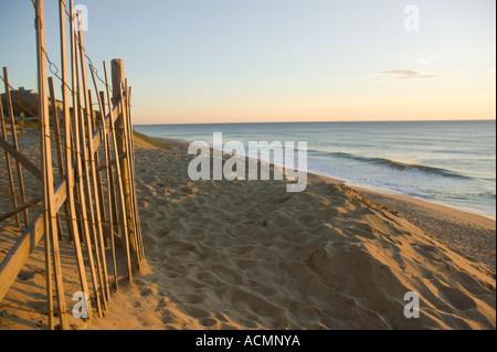 Dawn at Cape Cod National Seashore Wellfleet Massachusetts - Stock Image