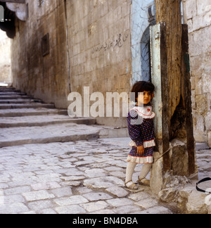 Young girl Aleppo Syria - Stock Image