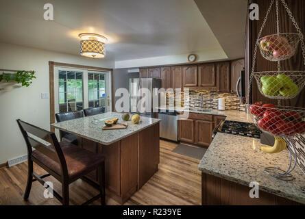 Kitchen Interior Philadelphia USA - Stock Image