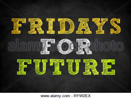 Fridays for Future - School strike for climate - Stock Image
