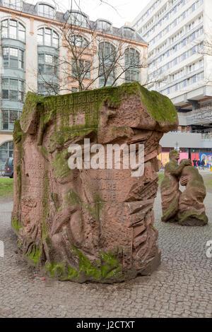 Germany, Berlin. Block of Women Memorial at the site of Old Synagogue. Credit as: Wendy Kaveney / Jaynes Gallery - Stock Image