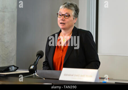 Ms. Anne Paugam, Ambassador Extraordinary and Plenipotentiary of France to Switzerland and Liechtenstein - Stock Image