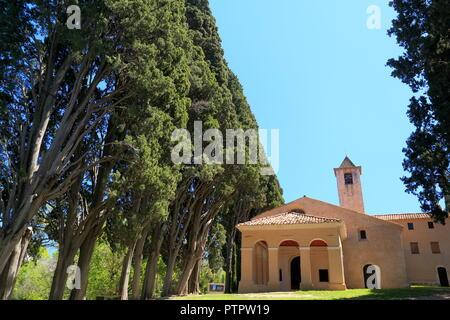 Mougins, Notre Dame de vie, Alpes Maritimes, 06, PACA, France - Stock Image