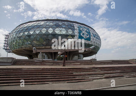 Building of Aeronautical Museum in Belgrade, Serbia - Stock Image