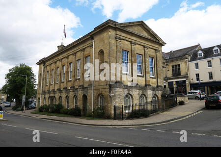 The Town Hall at Chipping Norton,The Cotswolds, UK. - Stock Image