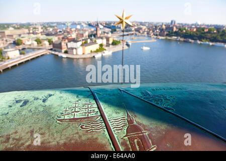 View over Gamla Stan, Stockholm, Sweden - Stock Image
