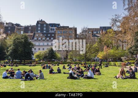 Lincoln's Inn Fields, London, UK - Stock Image