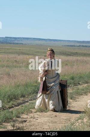 JESSICA CHASTAIN, WOMAN WALKS AHEAD, 2017 - Stock Image