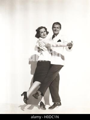 Dance partners - Stock Image