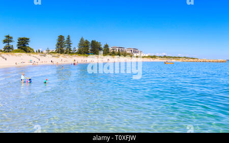 South Beach in South Fremantle. - Stock Image