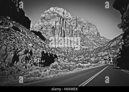 Road to Moab, Utah - Stock Image