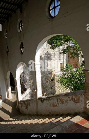 San Antonio de Padua Convent (St Anthony of Padua Convent), Izamal, Yucatan Peninsular, Mexico - Stock Image