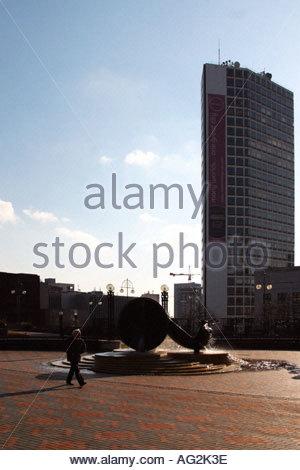 hyatt hotel birmingham - Stock Image