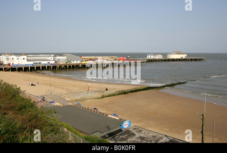 Clacton-on-Sea Pier, Essex - Stock Image