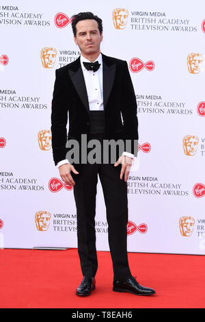LONDON, UK. May 12, 2019: Andrew Scott arriving for the BAFTA TV Awards 2019 at the Royal Festival Hall, London. Picture: Steve Vas/Featureflash - Stock Image