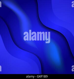 blue cloth texture background - Stock Image
