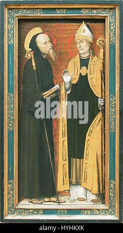 Carlo braccesco, trittico dell'annunciazione 03 - Stock Image