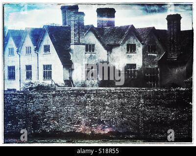Stately home U.K. - Stock Image