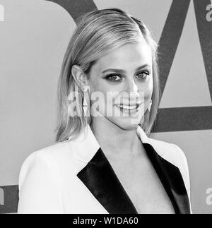 New York, NY - June 03, 2019: Lili Reinhart attends 2019 CFDA Fashion Awards at Brooklyn Museum - Stock Image