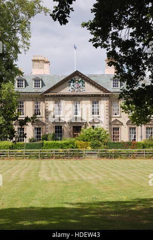 Wootton Hall at Wootton Park in Wootten Wawen - Stock Image