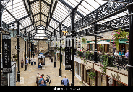 Craven Court shopping centre, Skipton, North Yorkshire, England - Stock Image
