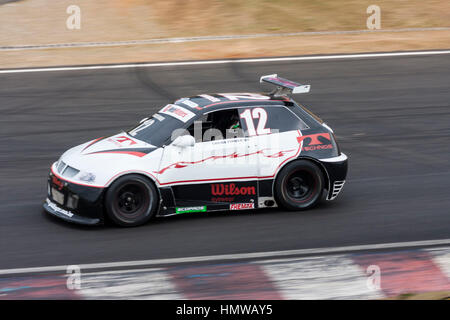 Lucas Finger Stock Car Junior Interlagos Brazil - Stock Image