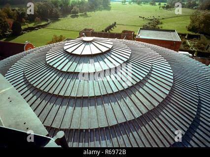 Glynebourne Opera House rooftop - Stock Image