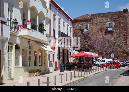 Portugal, Algarve, Silves, Street Scene - Stock Image