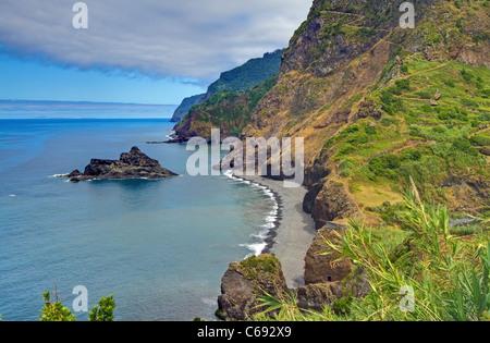 The North Coast of Madeira - Stock Image