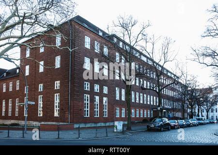 Springer Nature academic publishing company building, 3 Heidelberger Platz, Wilmersdorf-Berlin - Stock Image